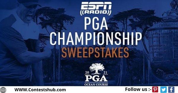 ESPN Radio PGA Championship 2021 Sweepstakes
