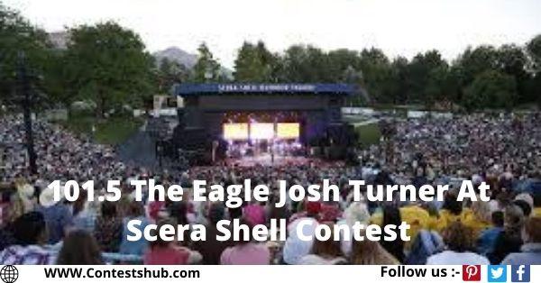 101.5 The Eagle Josh Turner At Scera Shell Contest