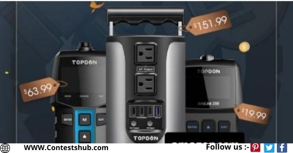TOPDON Power Station Giveaway
