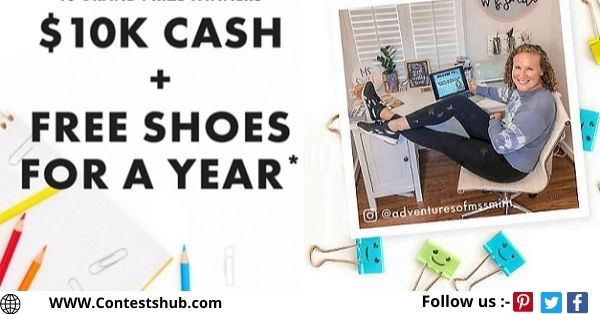 DSW Celebrating Teachers Sweepstakes