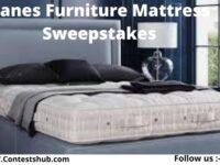 Kanes Furniture Mattress Sweepstakes