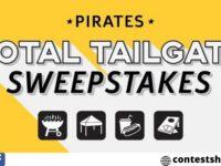 Pirates Tailgate Sweepstakes 2020