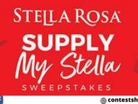 Supply My Stella Rosa Sweepstakes
