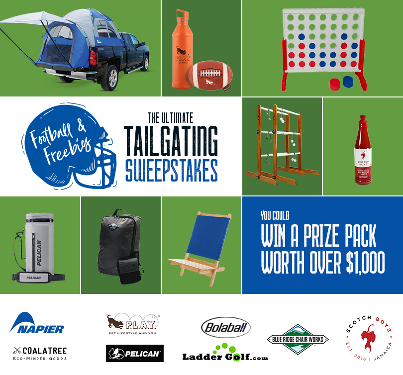 Napier Outdoors Football & Freebies Sweepstakes
