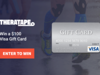 Theratape $100 Visa Gift Card Giveaway