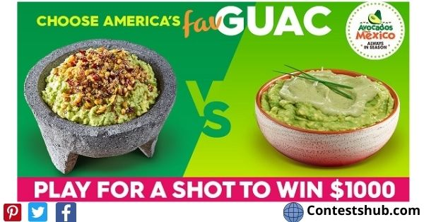 America's Favorite Guac Sweepstakes