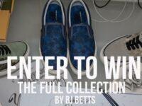 Vans X BJ Betts Sneaker Collection Giveaway