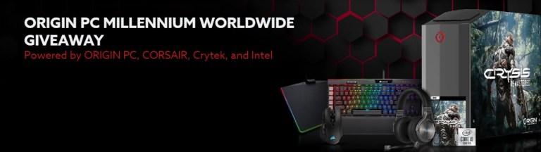 Origin PC Crisis Remastered Giveaway