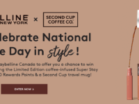 Maybelline New York Canada X Second Cup Contest