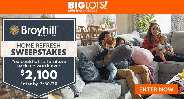 Big Lots Furniture Sweepstakes