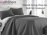 Southshore Fine Linens Vilano Comforter Giveaway