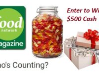 Food Network Magazine Cash Contests