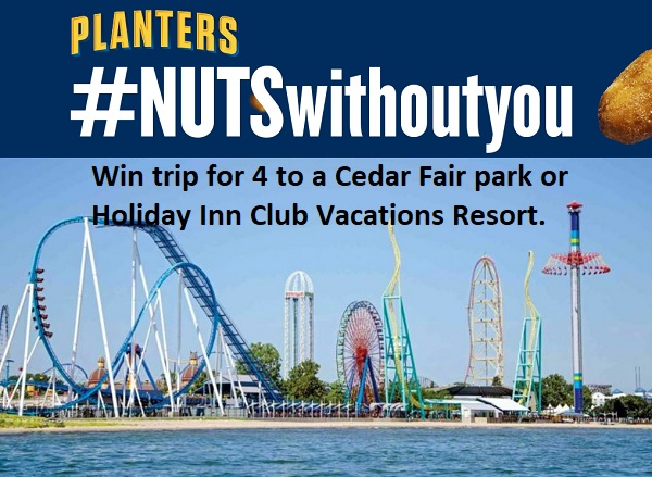 Planters Nuts Without You Sweepstakes