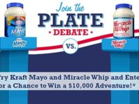Kraft Heinz Foods Plate Debate Instant Win Game