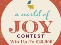 World Market World of Joy Contest