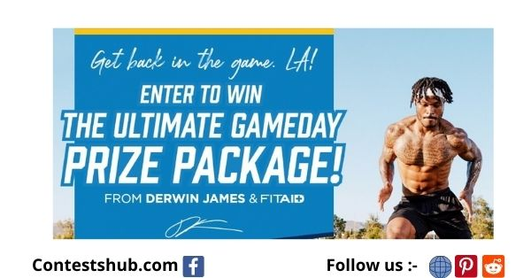 LifeAid Derwin James GameDay Giveaway