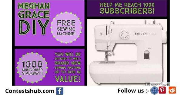 MadamSew Janome Sewing Machine Giveaway