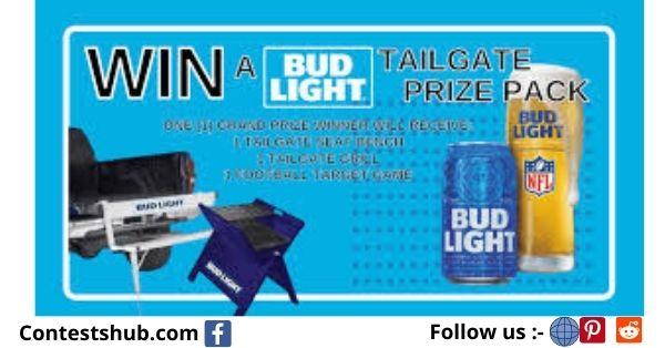 Bud Light NFL Tailgate Prize Pack Giveaway