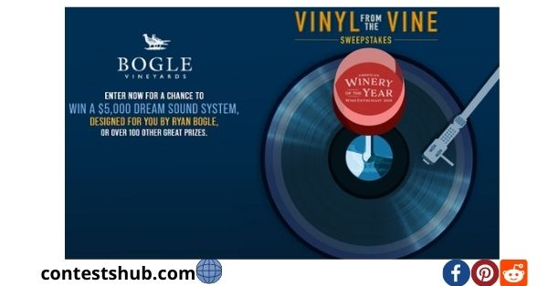 Bogle Vineyards Vinyl from the Wine Sweepstake