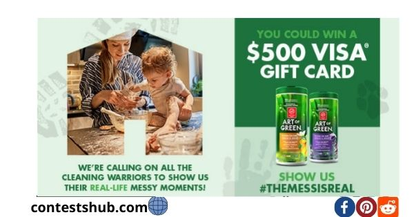 Art of Green Mess is Real Sweepstakes