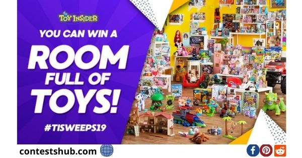 Toy Insider Room Full Of Toys Sweepstakes