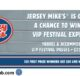 Jersey Mikes VIP Festival Flyaway Sweepstakes