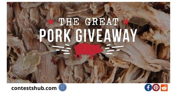 Sonny's BBQ Great Pork Giveaway