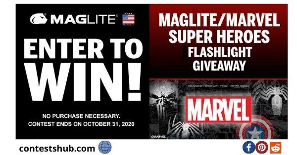 Maglite Marvel Super Hero Flashlight Giveaway