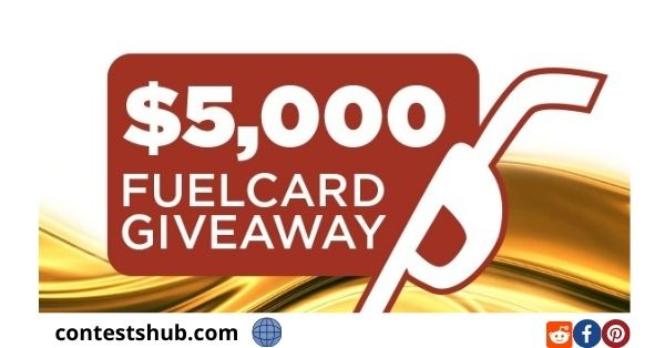 Lazy days $5,000 Fuel Card Giveaway
