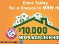 Arm & Hammer $10,000 No Place Like Home Sweepstakes