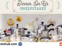 Farberware Cookware Dinner On Us Sweepstakes