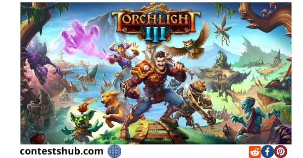 Mush kin Torchlight 3 Sweepstakes