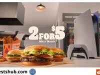 Burger King PS5 Giveaway