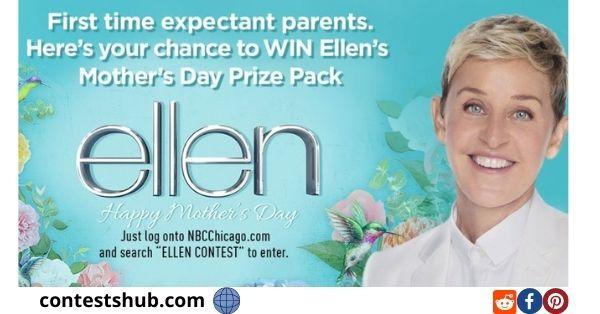 Ellen DeGeneres $1,000 Newsletter Sweepstakes