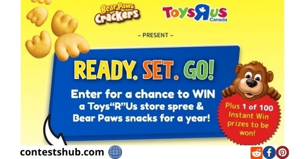 Toys R Us 21 Days of Toys Sweepstakes