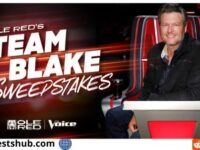 Ole Red's Team Blake Sweepstakes
