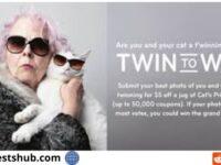 Cat's Pride Twin to Win Contest