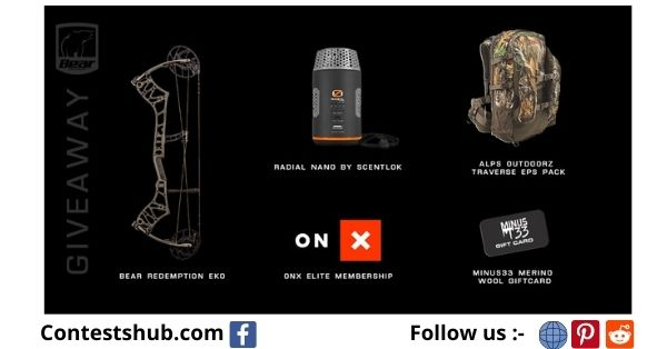 Bear Archery Fall Outdoor Brands Giveaway