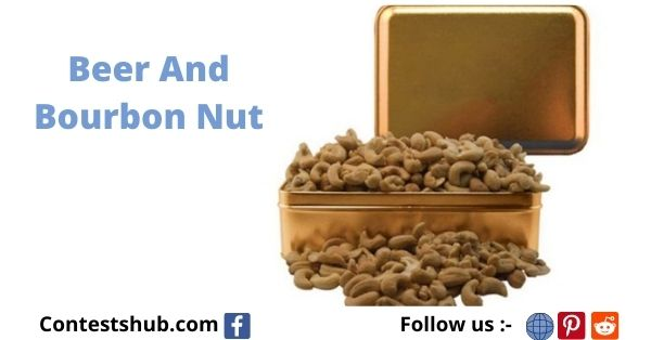 Beer And Bourbon Nut Gift Tin Giveaway