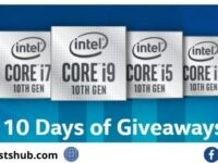 Intel Gaming 10 Days Of Giveaway
