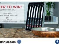 Wusthof Gourmet 4-Piece Steak Knife Set Giveaway