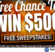 Crown Awards $500 Debit Gift Card Giveaway