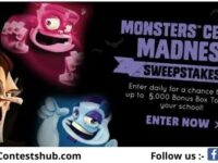 Box Tops 4 Education Monster Cereal Sweepstakes