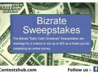 Bizrate Daily Cash Giveaway 2020