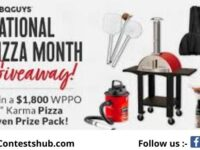 BBQGuys National Pizza Month Giveaway