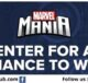 ShopDisney MarvelMania Sweepstakes