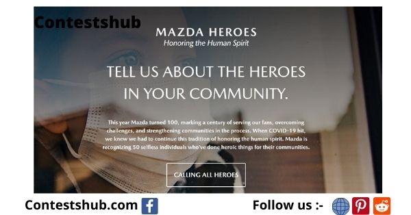 Mazda Motor Of America Mazda Heroes Contest