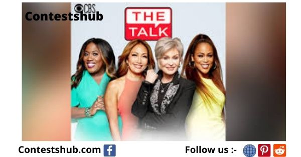 CBS The Talk Feel Good Friday Giveaway