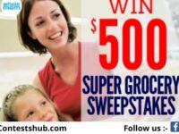 WholeMom Super Grocery Sweepstakes