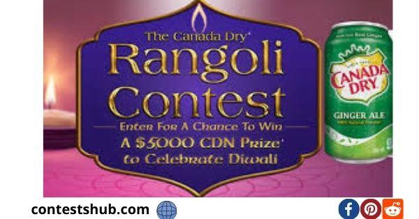Canada Dry Rangoli Contest